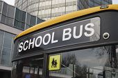 Der Schulbus In London hautnah