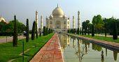 Taj Mahal In The Morning