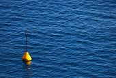 Lonely bouy on the ocean