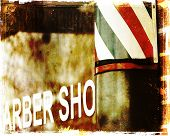Barber shop background