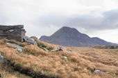 Scottish Landscape Near Stac Pollaidh