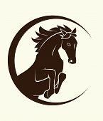 símbolo de caballo
