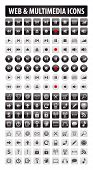 Vector Buttons Set For Web And Multimedia