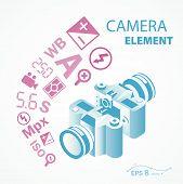 photo camera icon element