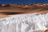 stock photo of punctuation  - Bolivia the most beautifull Andes in South America - JPG