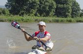 Top International Paddler, Jakub Adam, Prepares For The Start Of The Unlimited Dusi Canoe Marathon,