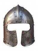 Isolated Armour Helmet