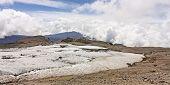 Glacier Volcano Nevado Del Ruiz, Los Nevados Parque Nacional Natural.colombia