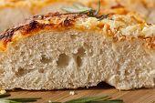 Fresh Homemade Italian Focaccia Bread