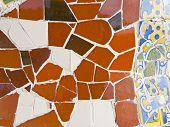 Antonio Gaudi mosaics