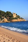 Lloret De Mar Beach (Costa Brava, Spain)