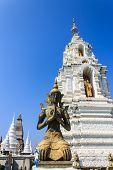 Thai Angel In Wat Ban Den, Maetang Chiangmai Thai Temple