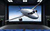 Cinema And Airplane