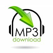 Descargar vector símbolo de mp3