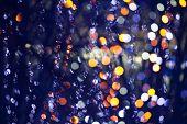 Blurred Festive Lights