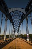 Sternbrucke, Stars Bridge In Magdeburg, Germany