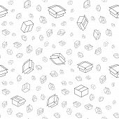The package seamless pattern