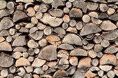 Stacked Logs Detail