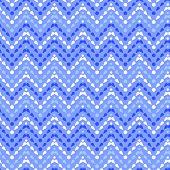 Purple drops chevron seamless pattern background
