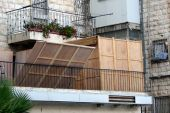 Sukkah On Balcony
