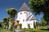 Ols iglesia redonda Kirke St. En Bornholm