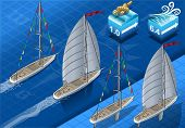 Isometric Sailships In Navigation