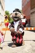 GRANBY, QUEBEC, CANADA- JULY 22: Mascot Festival in Granby, Quebec. Five day Annual family event wit