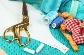 Sewing tools fashion design
