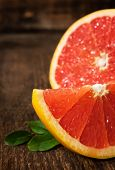 Juicy Ripe Grapefruit