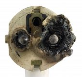 Burnt Power Plug
