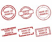 Made In France Stamps