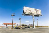 Advertising For Brothel And Bar Nevada Joe At State Route 160