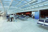 RIO DE JANEIRO, BRAZIL - March 22: Santos Dumont Airport on March 22, 2014 in Rio de Janeiro, Brazil