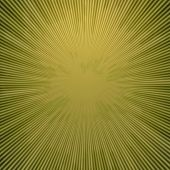 Rays  In Abstract Green Yellow  Universe