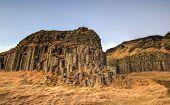 Dverghamrar Basalt Columns, Iceland