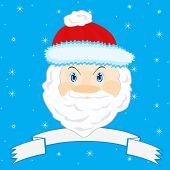 Festive Santa Claus