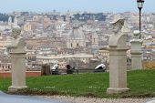 Janiculum Hill In Rome