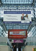 Javits Center convention center lobby