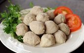 Meat Ball In Dish