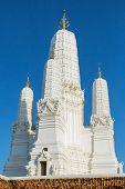 Wat Mahathat Worawihan temple in Phetchaburi, Thailand