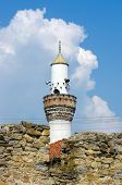 minaret of Arap Mosque in Novi Pazar, Serbia