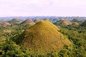 Chocolate Hills, Bohol Island, Philippines