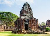 Phimai castle in Nakornrajsima from Thailand
