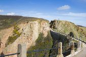 pic of sark  - La Coupee on Sark the channel islands - JPG
