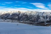 French Alps In Auron, South Of France
