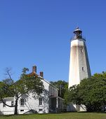 The Tall White Lighthouse