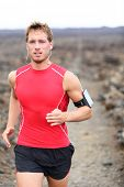 pic of triathlon  - Athlete running  - JPG