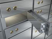 Safe cell, safe deposit box