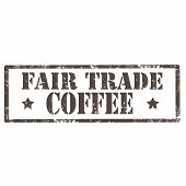 Fair Trade- Coffee-stamp