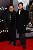 NEW YORK-MAR 26: Designer Narciso Rodriguez (L) and Thomas Tolan attend the premiere of